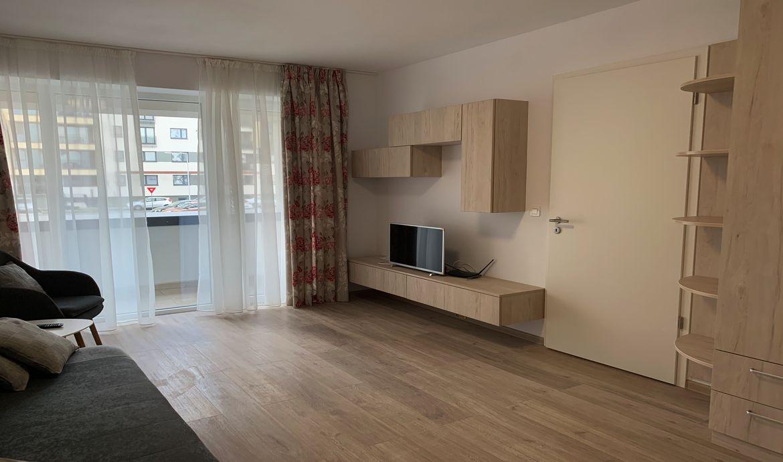 Apartament de vânzare cu 2 camere Coresi Avantgarden mobilat și utilat